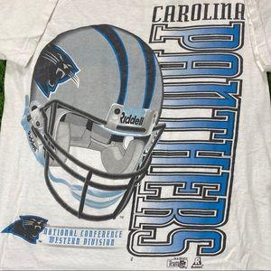 1995 Carolina Panthers Single Stitch